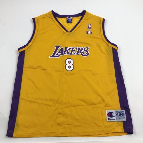 Champion Lakers Kobe Bryant Jersey BOYS XL 18-20